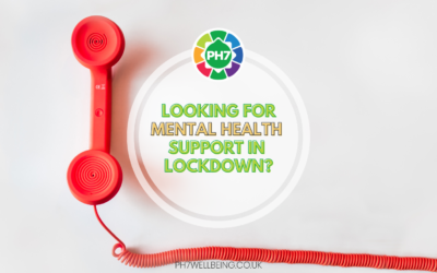 Looking for Mental Health Support in Lockdown?
